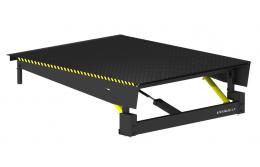 Модернизирована уравнительная платформа с выдвижной аппарелью консольного типа DoorHan