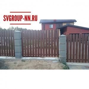 Забор и Ворота с калиткой из  стального штакетника премиум класса. Дорого/богато😁 #свгруппнн #воротасвгрупп #откатныеворотанн #гаражныеворота #секционныеворотанн #купитеворота #нукупитеворота